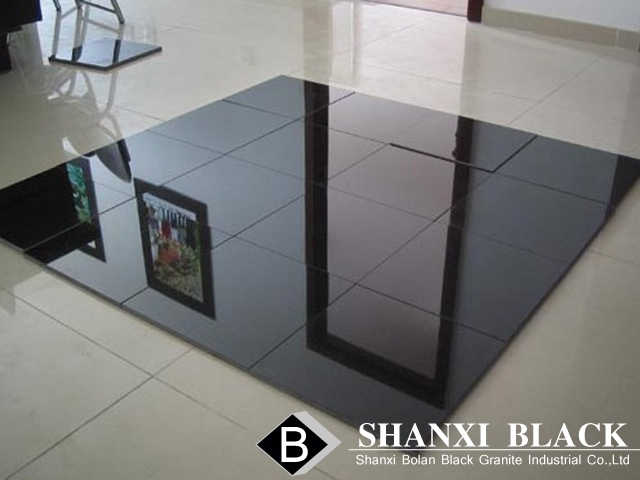 Shanxi Black Granite Tiles From China Manufacturers Seller