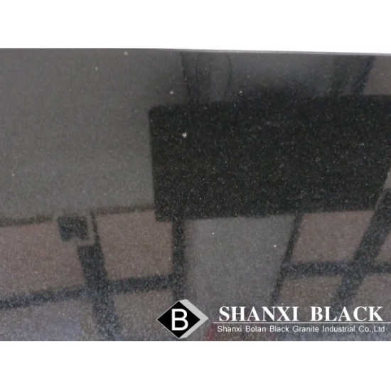 Shanxi Black Granite With Golden Spots From China