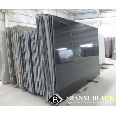 mirror polished shanxi black granite