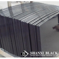 black granite slabs polished finish
