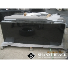 natural absolute black granite shanxi