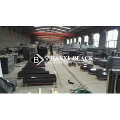 Shanxi black granite monumetents for